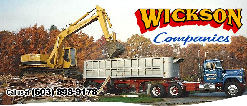 The Wickson Companies| Excavation, Site Work | Trucking
